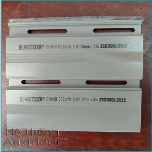 Cửa cuốn Austdoor S52i - Dày 0.9 - 1.0 mm
